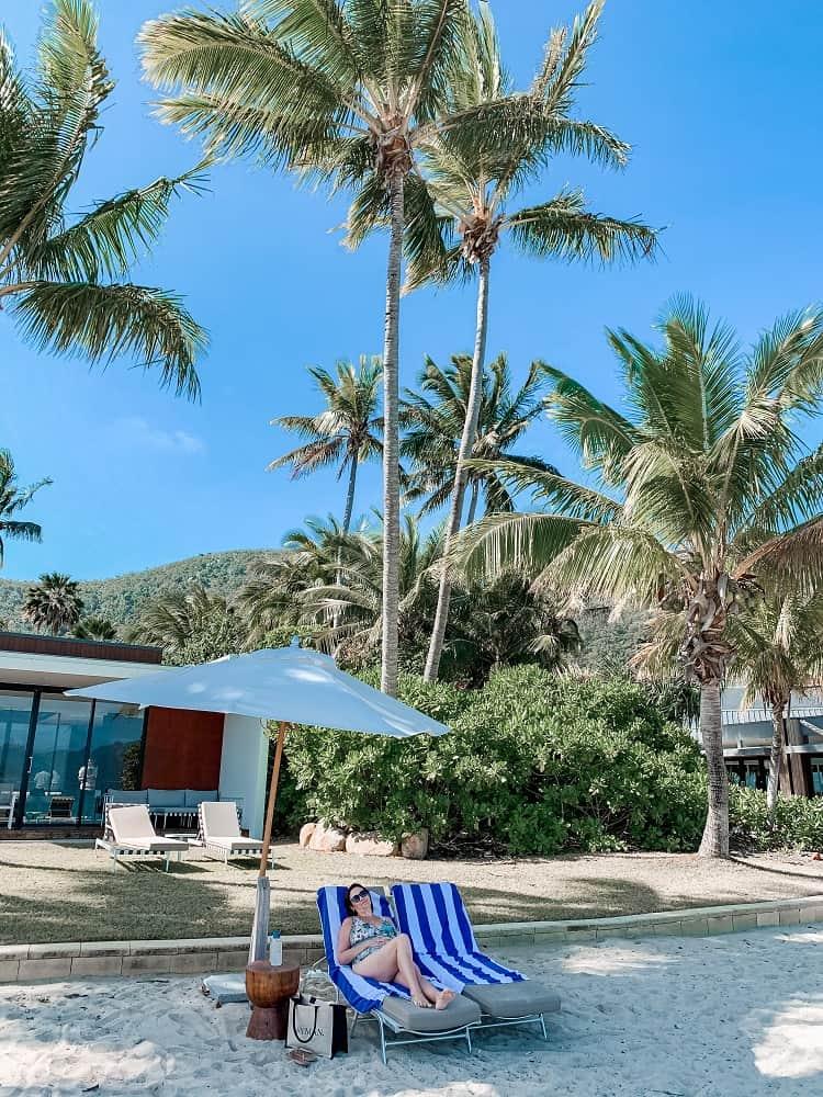 Intercontinental Hayman Island Resort - Beach Relaxation