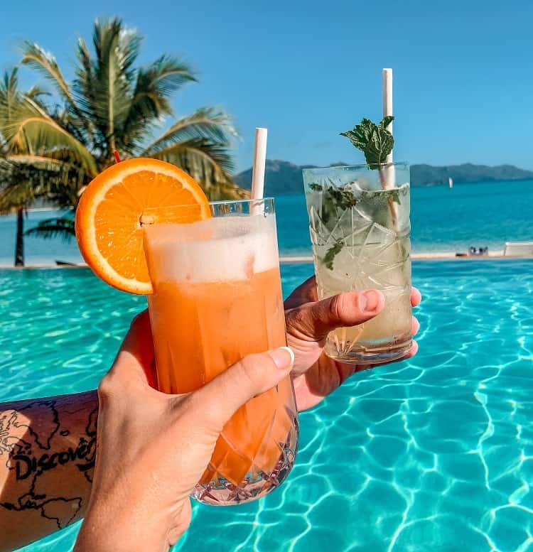 Intercontinental Hayman Island Resort - Cocktails