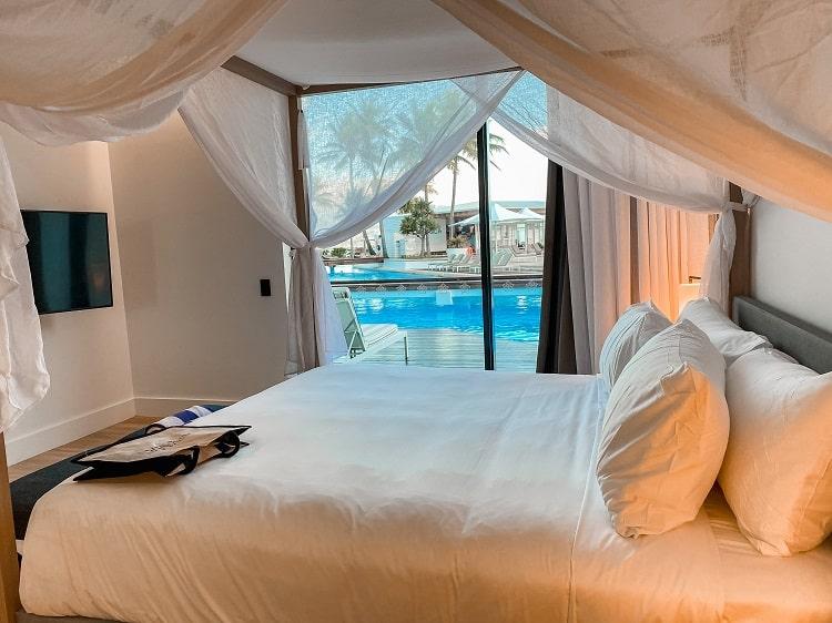 Intercontinental Hayman Island Resort - One Bedroom Pool Access Suite - Bedroom