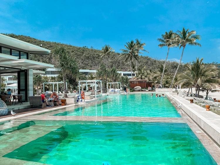 Intercontinental Hayman Island Resort - Pool View at Bam Bam Restaurant
