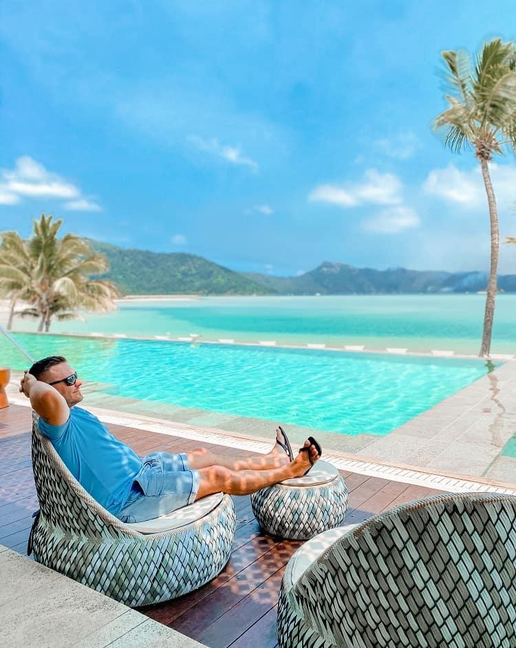 Intercontinental Hayman Island Resort - Relaxation at Bam Bam Restaurant