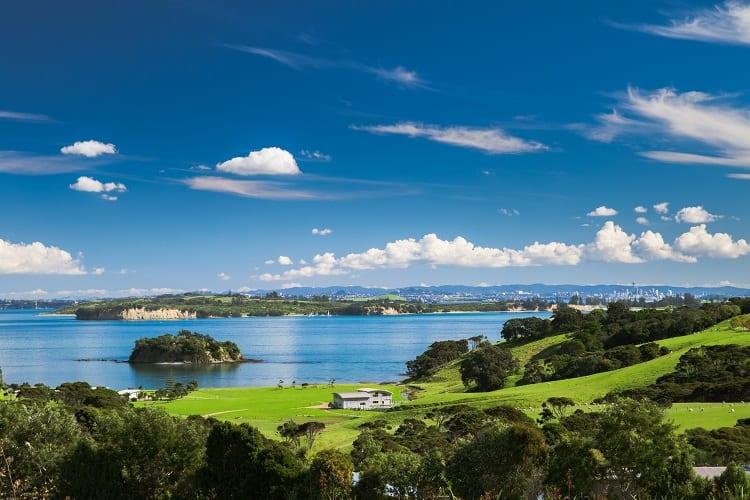 Waiheke Island in NZ