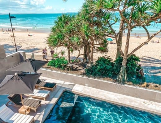 On The Beach Noosa Resort Review - Beachfront Studio Apartment