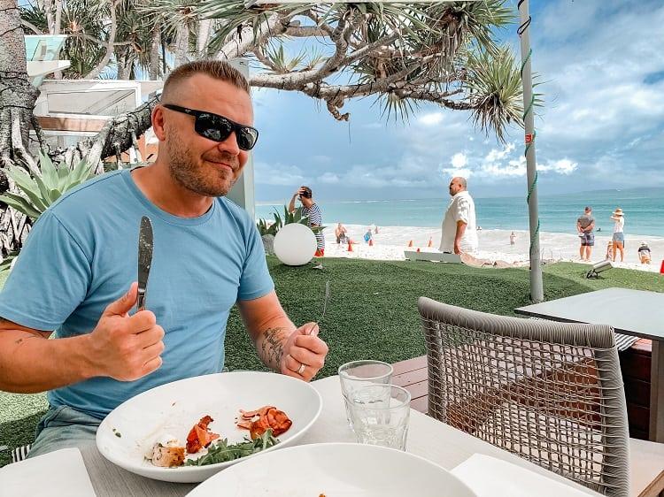 On The Beach Noosa Resort Review - Bistro C Hastings Street Noosa Breakfast