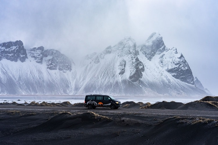 Hire a Campervan in Iceland