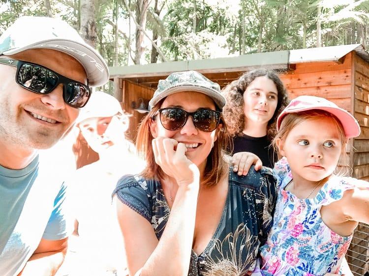 Currumbin Wildlife Sanctuary with Kids - Ejmont Family