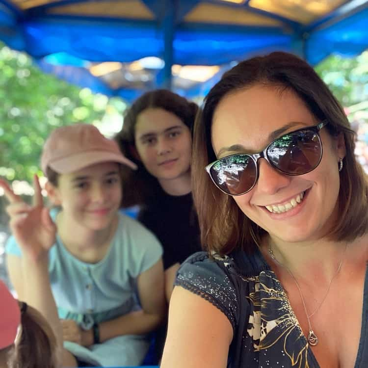 Currumbin Wildlife Sanctuary with Kids - On the Train