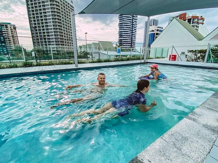 ULTIQA Air On Broadbeach Review - The Pool