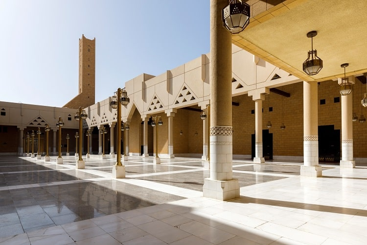 Imam Turki bin Abdullah Mosque near Dira Square in downtown Riyadh