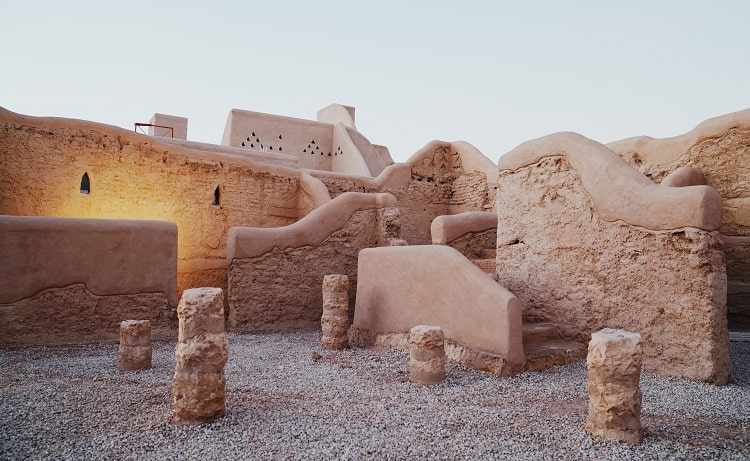 UNESCO World Heritage site Ad Diriyah near the capital of Saudi Arabia Riyadh