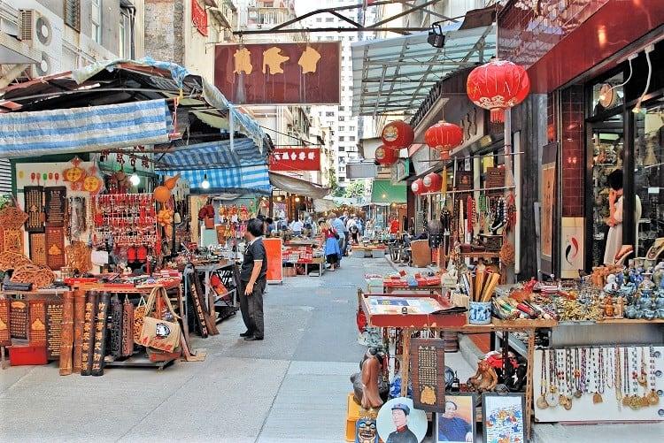 Hong Kong China, Markets