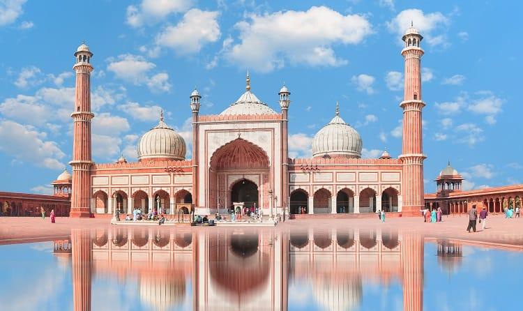 Jama Masjid New Delhi India