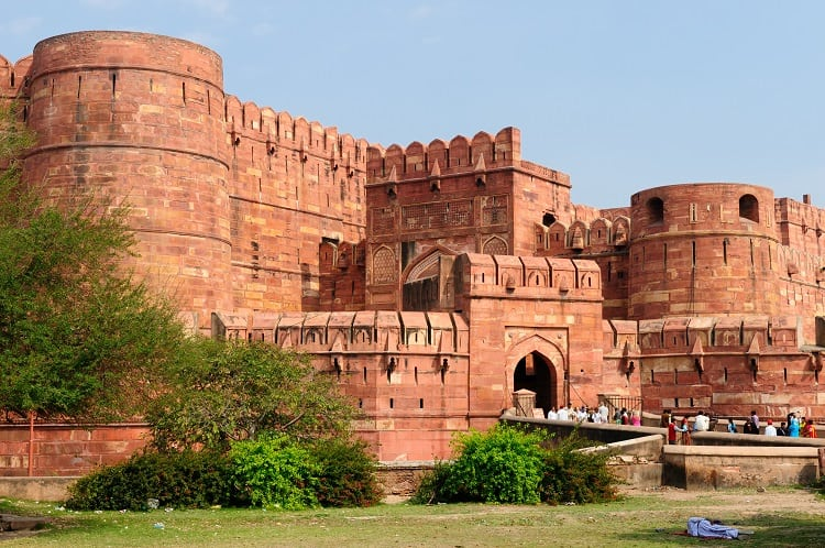 Red Fort Agra, India