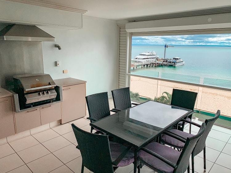 Tangalooma Island Resort Review - Balcony