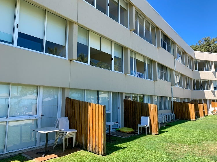 Tangalooma Island Resort Review - Not so cool apartments