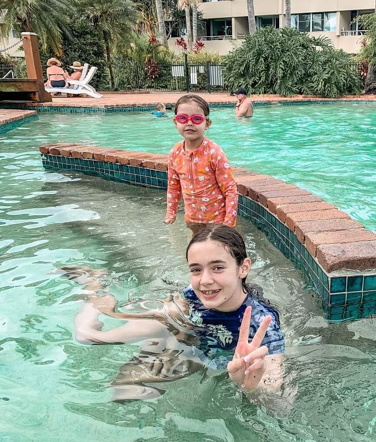 Tangalooma Island Resort Review - Swimming