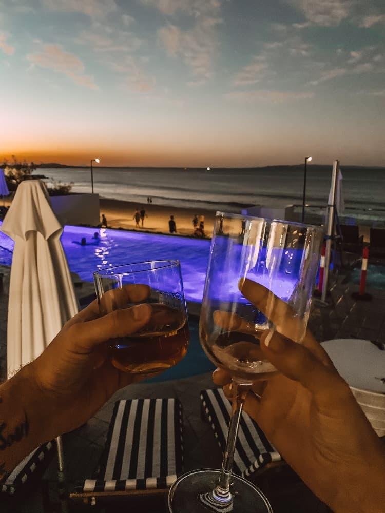 Tingirana Noosa Review - Sunset View
