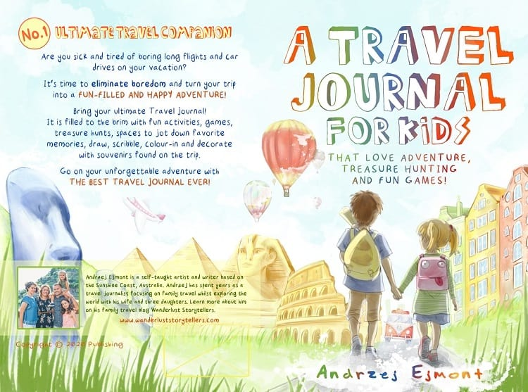 A Travel Journal For Kids - Andrzej Ejmont - Cover
