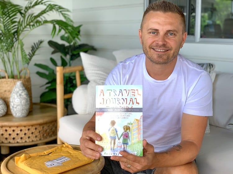 A Travel Journal For Kids - Andrzej Ejmont - Kids Travel Journal