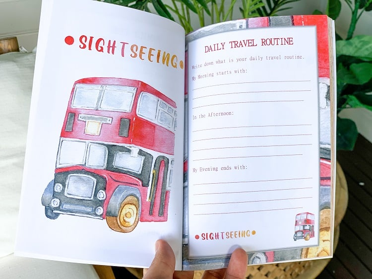 A Travel Journal For Kids - Andrzej Ejmont - Sightseeing
