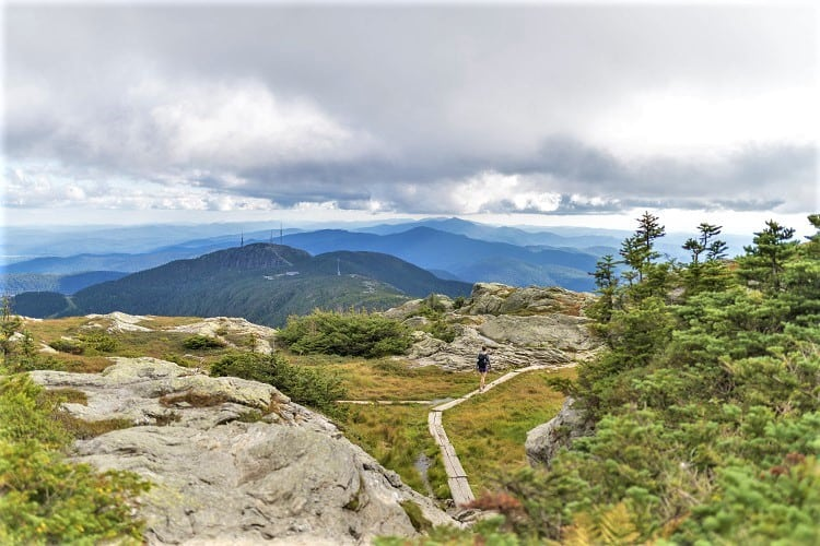 Mount Mansfield Long Trail in Vermont - Hiking in the US