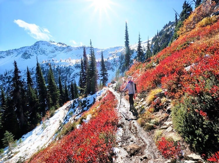 Pacific Crest Trail - Hiking in US
