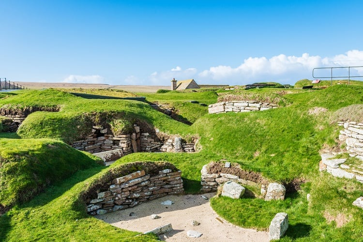 Scara Brae Neolithic Site - Orkney Islands, Scotland