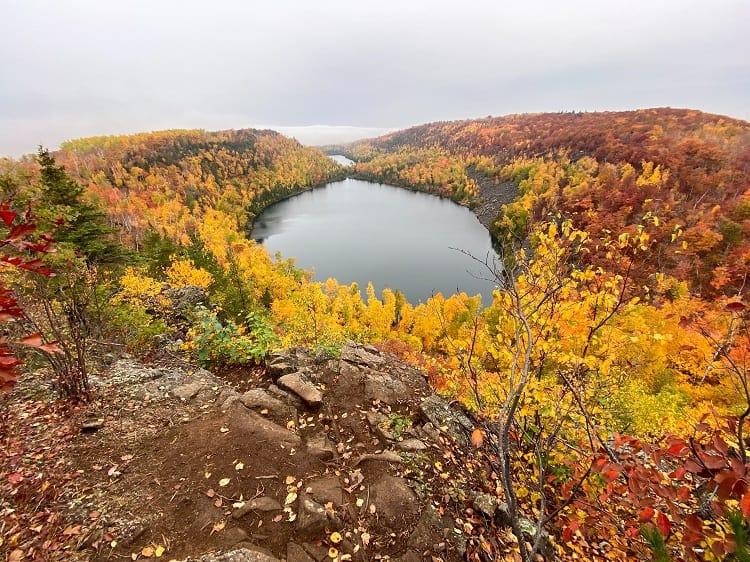 Superior Hiking Trail in Minnesota