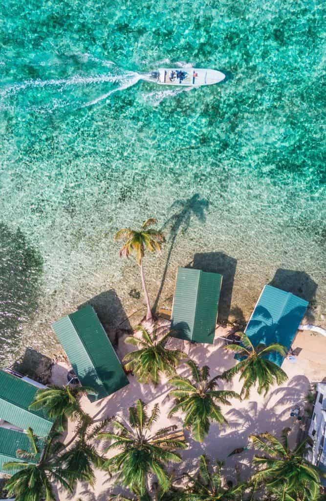 Tobacco Caye Caribbean island in the Belize