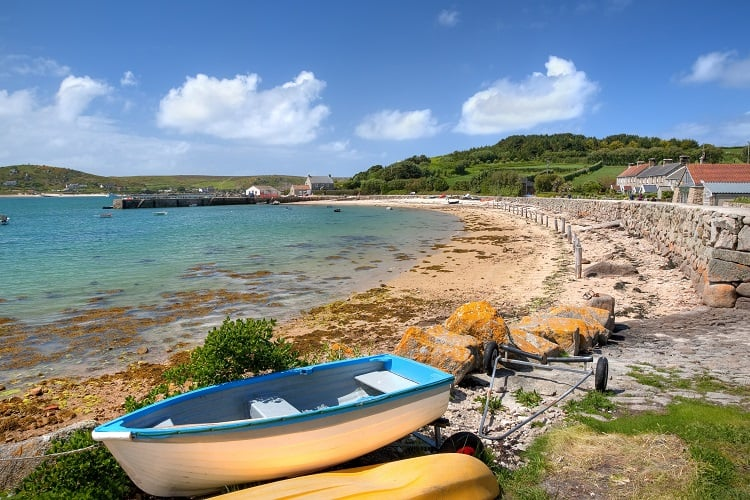 Tresco, Isles of Scilly - Islands to go to in the UK