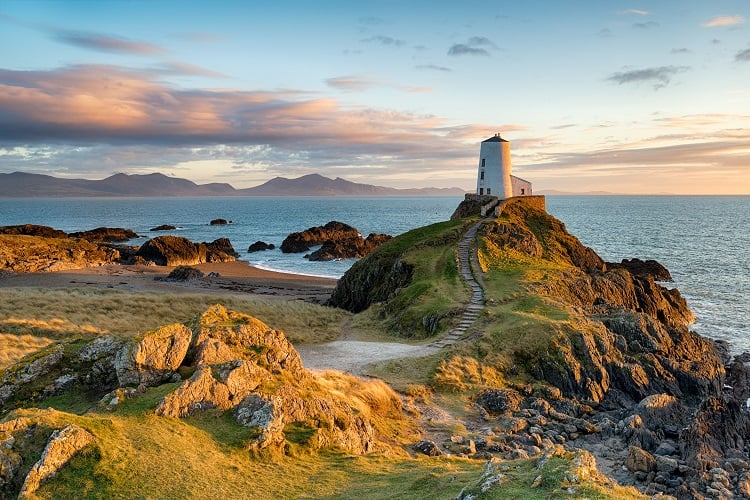 Ynys Llanddwyn in Anglesey - Best Islands to Visit in the UK