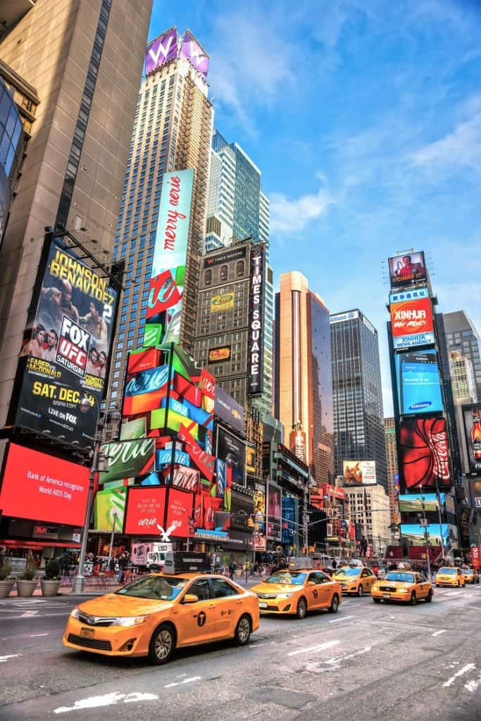 BEST THINGS TO DO IN NYC WITH KIDS - Times Square