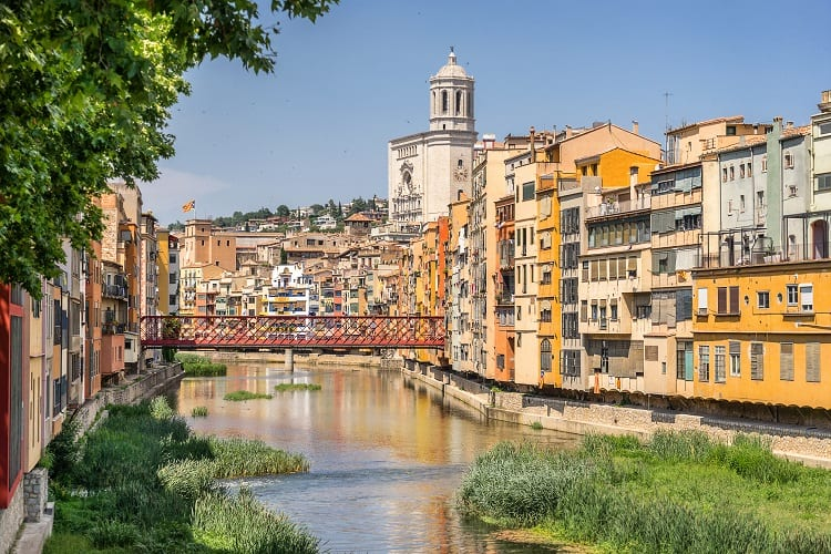 Girona Catalonia Spain Family Vacation