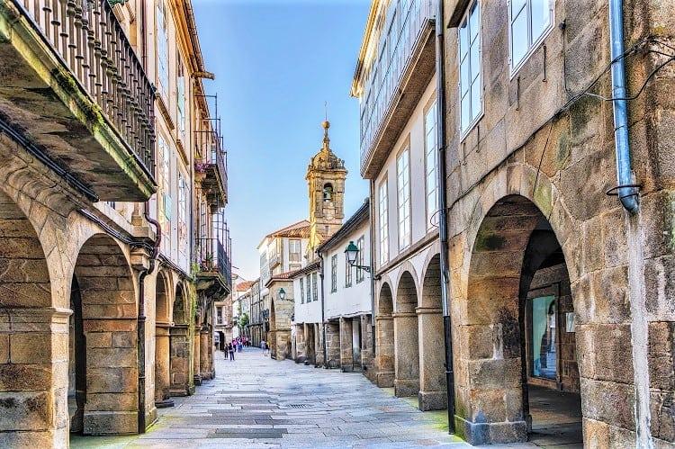 Santiago de Compostela Spain Family Holiday