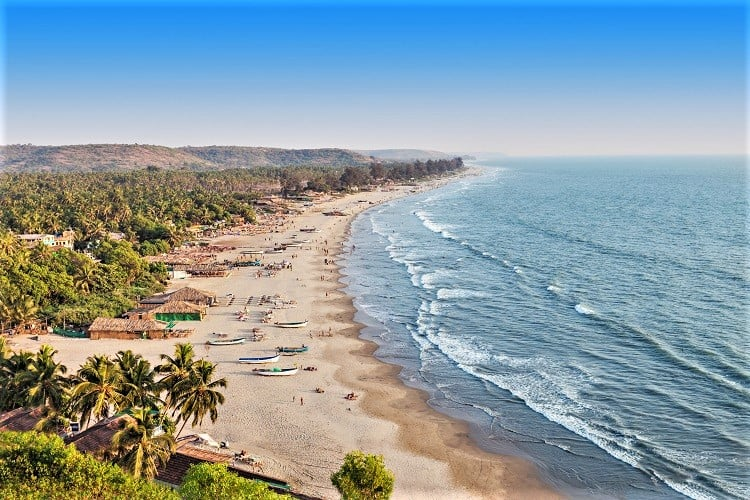 Arambol Beach Goa India, Best Places to Visit in Goa with Family