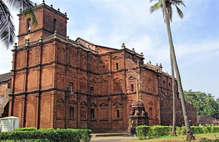 Basilica of Bom Jesus in Goa, India