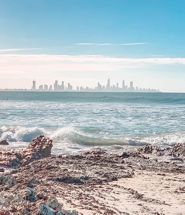 Currumbin Beach Gold Coast Queensland Australia