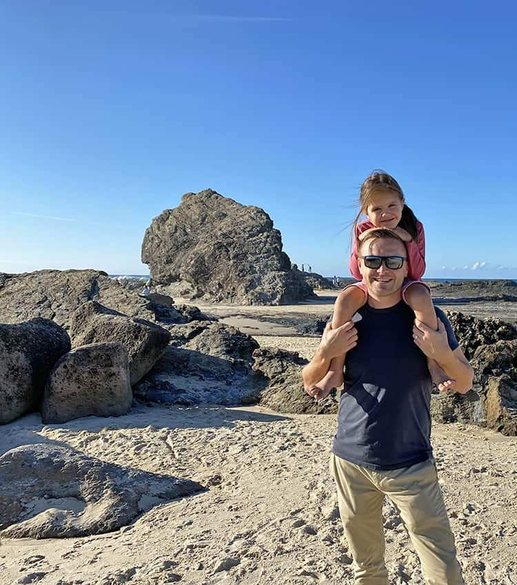 Currumbin Rock Gold Coast Queensland Australia