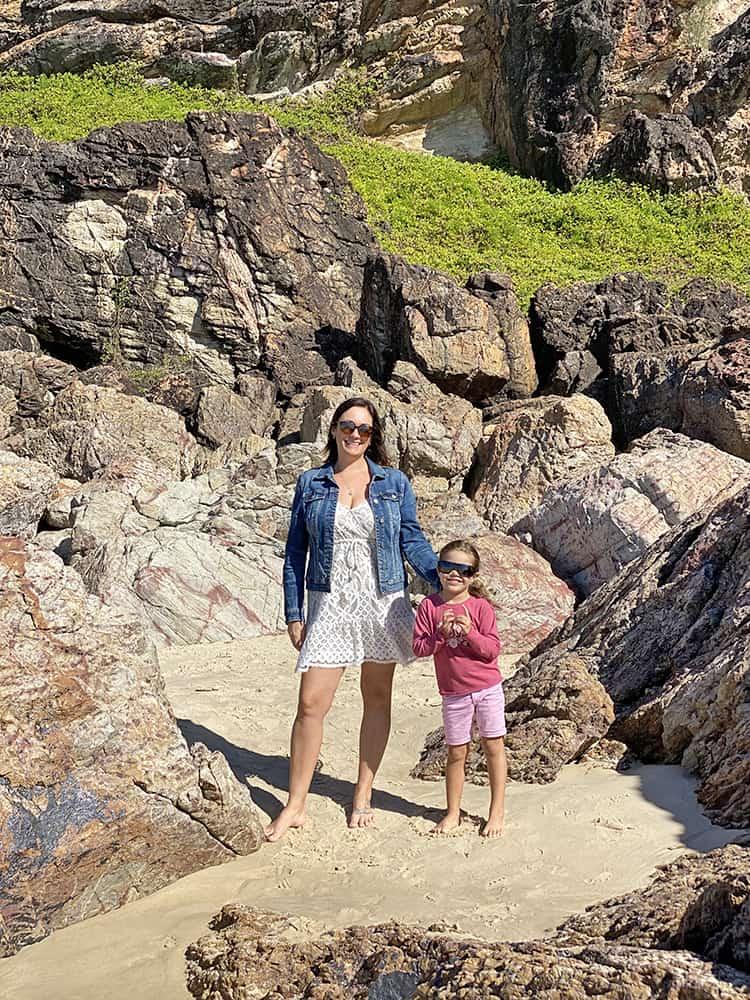 Miami Beach Gold Coast Rocks, Queensland, Australia