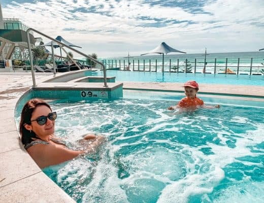 Peppers Soul Surfers Paradise Review - Jacuzzi with a View