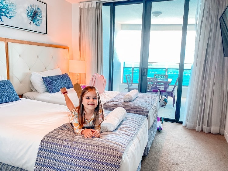 Peppers Soul Surfers Paradise Review - Kids Bedroom