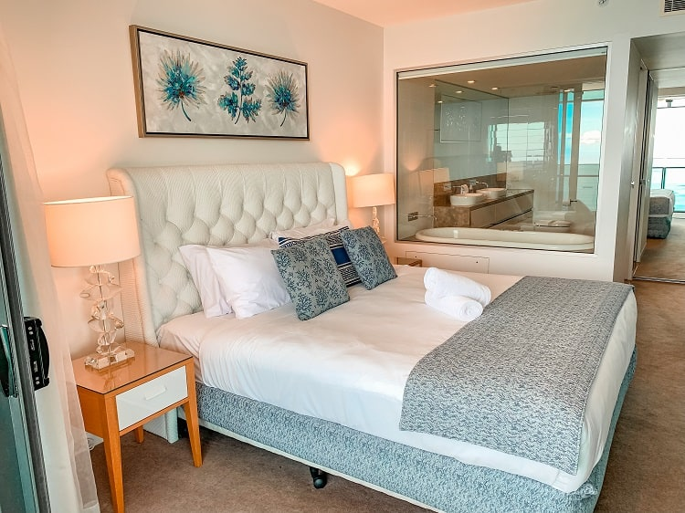 Peppers Soul Surfers Paradise Review - Main Bedroom