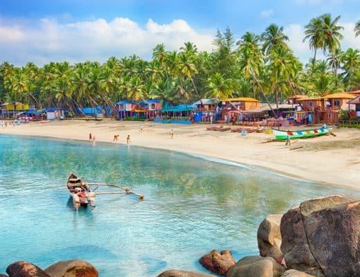 Visiting Goa with Family, Goa Palolem Beach, India