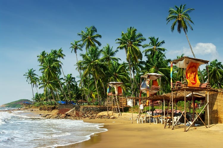 Visiting Places in Goa with Family, India with Kids
