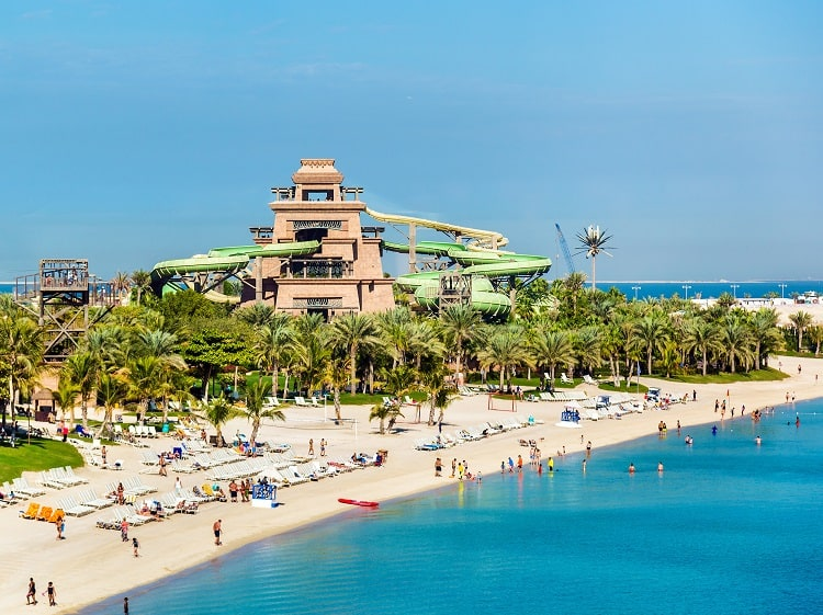 Best things to do in Dubai with Family, Aquaventure Waterpark Dubai Ride