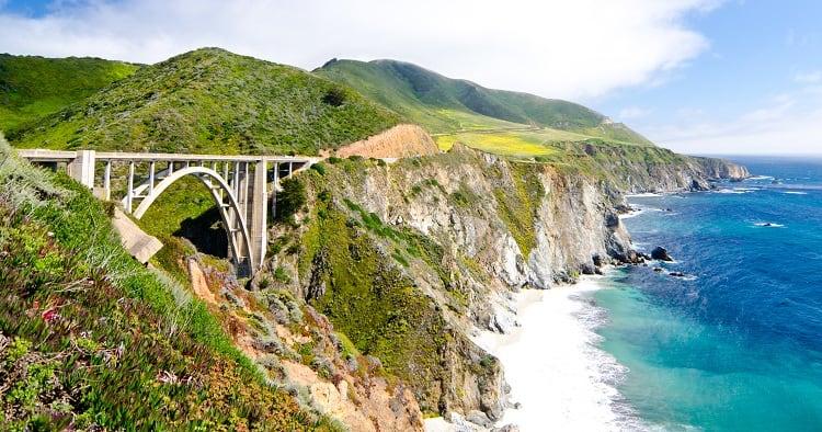 Bixby Bridge, California USA