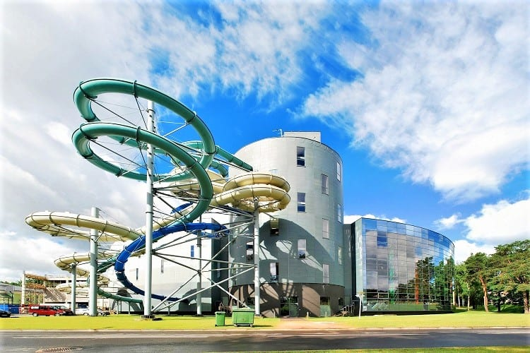 Druskininkai Aqua Park Lithuania with Kids - top attractions in the Baltics for kids