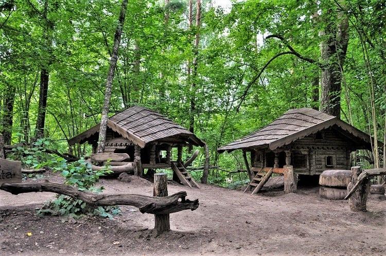 Tervete Nature Park Fairy Tale Houses - Latvia - Top Family Destinations in the Baltics