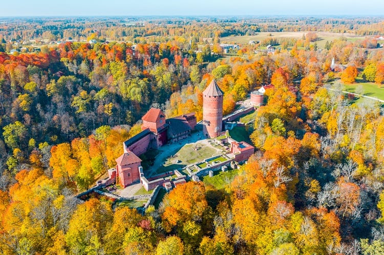 Turaida Castle Gauja National Park Latvia - Best Attractions in the Baltics